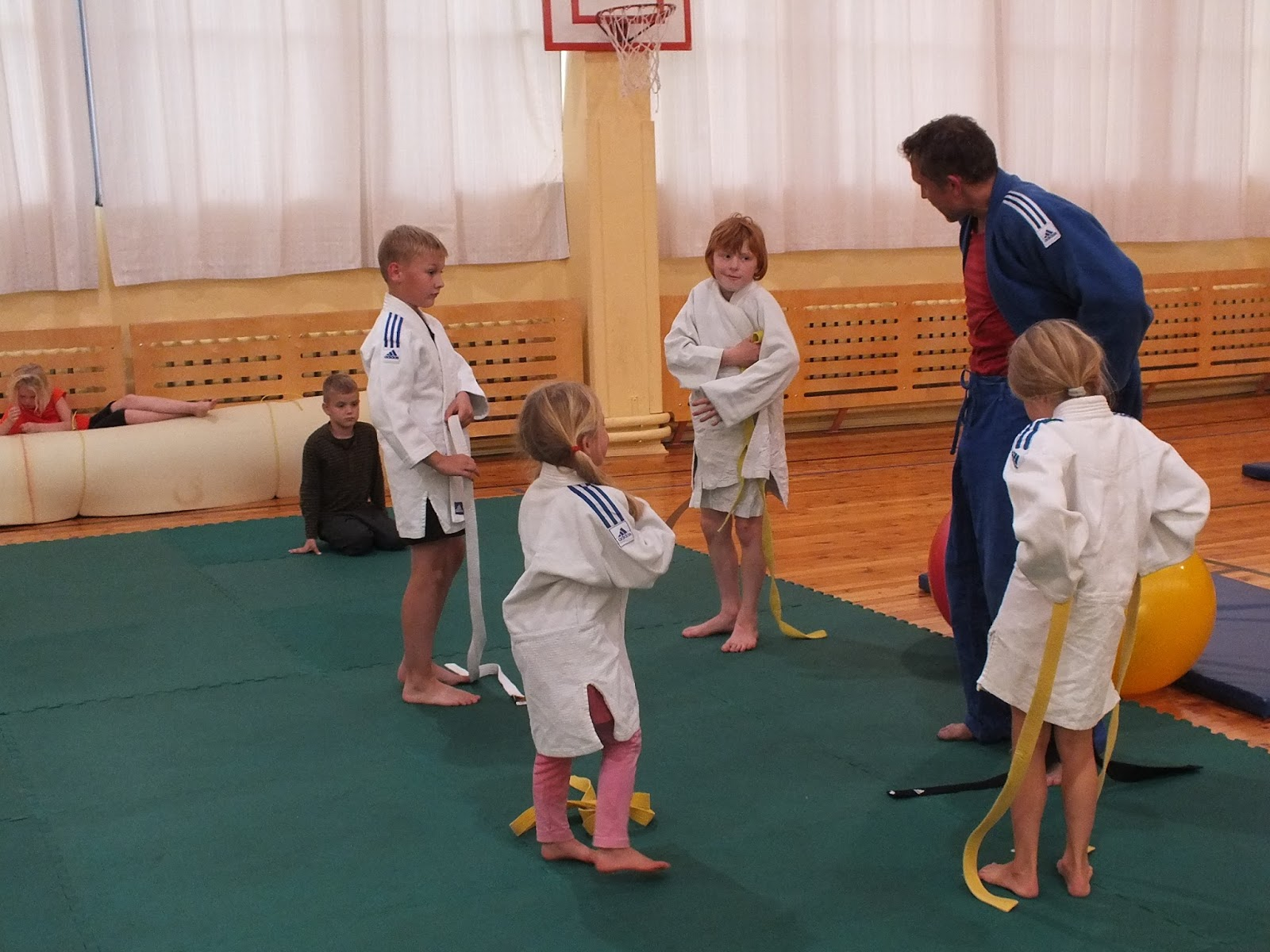 Tööd alustas judoring